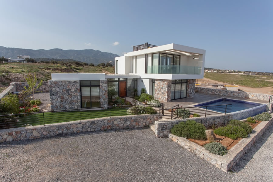 North cyprus villas which 7 types of north cyprus villa for Villa ultra moderne